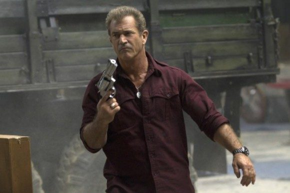 Mel Gibson in Expendables 3