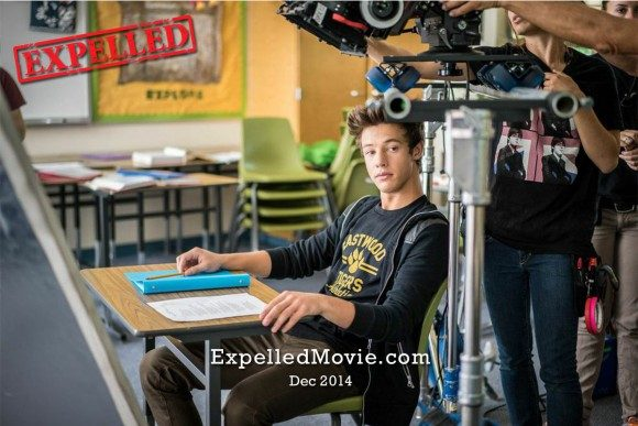 Cameron Dallas getting into character as Felix