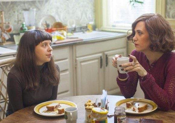 Kristen Wiig and Bel Powley in The Diary of a Teenage Girl