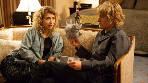Imogen Poots and Owen Wilson