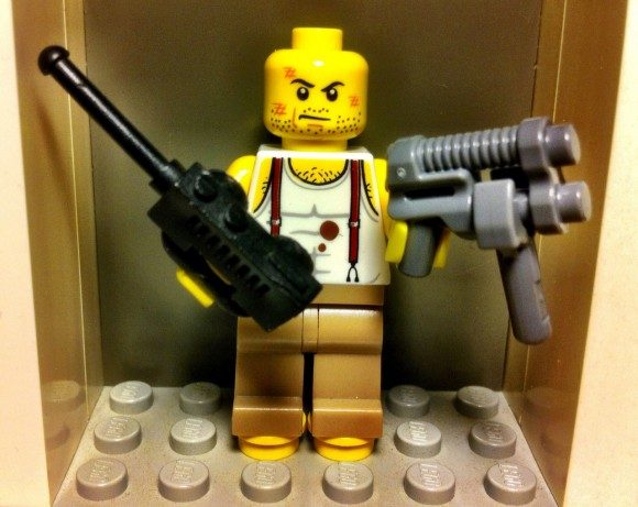John McLane Lego created by shes-a-brick.tumblr.com