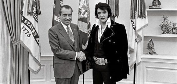 The real Nixon and Elvis meeting.