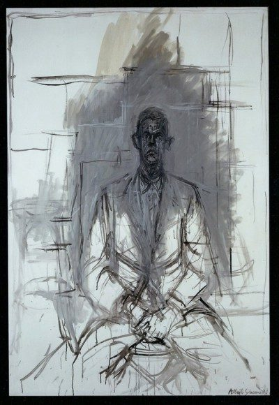 "Alberto Giacometti, ""Portrait of James Lord,"" 1964"