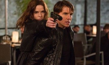 Ethan Hunt Hangs On to a Flying Airplane in the 'Mission: Impossible - Rogue Nation' Teaser