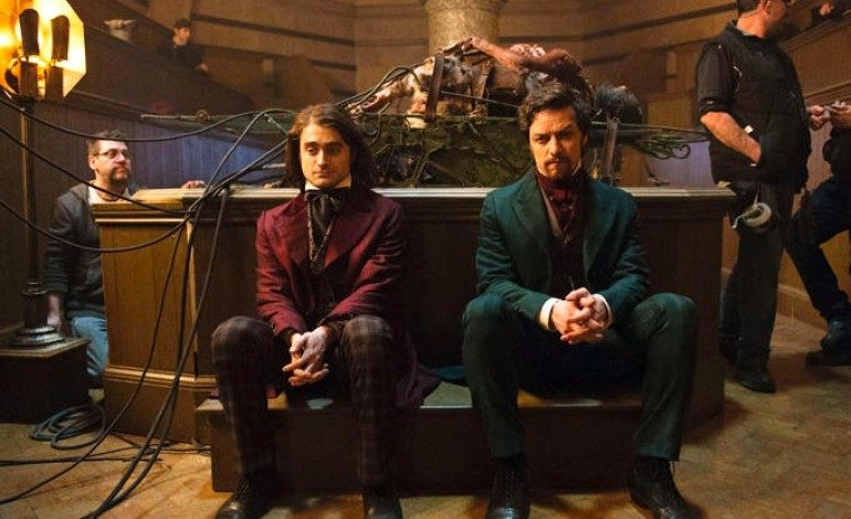 See First Images of James McAvoy and Daniel Radcliffe in 'Victor Frankenstein'