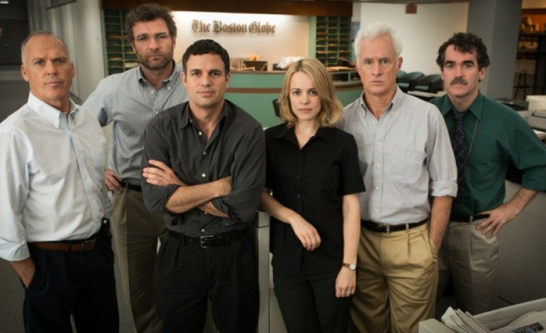 Watch the Trailer for Journalism Drama 'Spotlight'