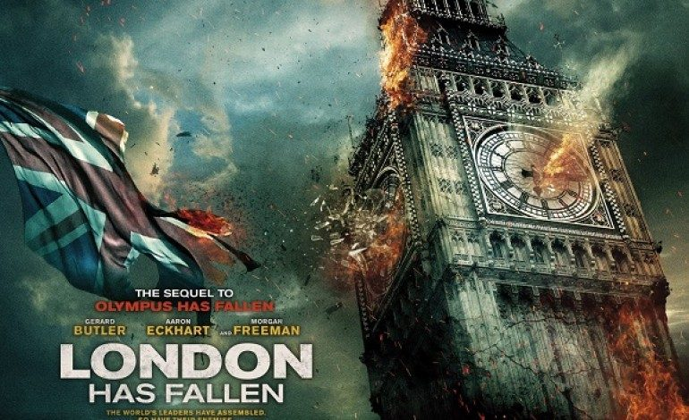 Teaser Trailer Surfaces for 'London Has Fallen'