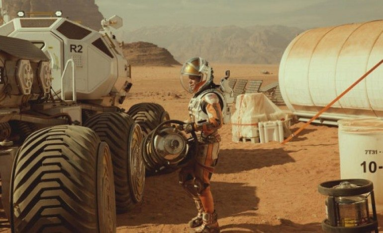 New Trailer for 'The Martian' Surfaces