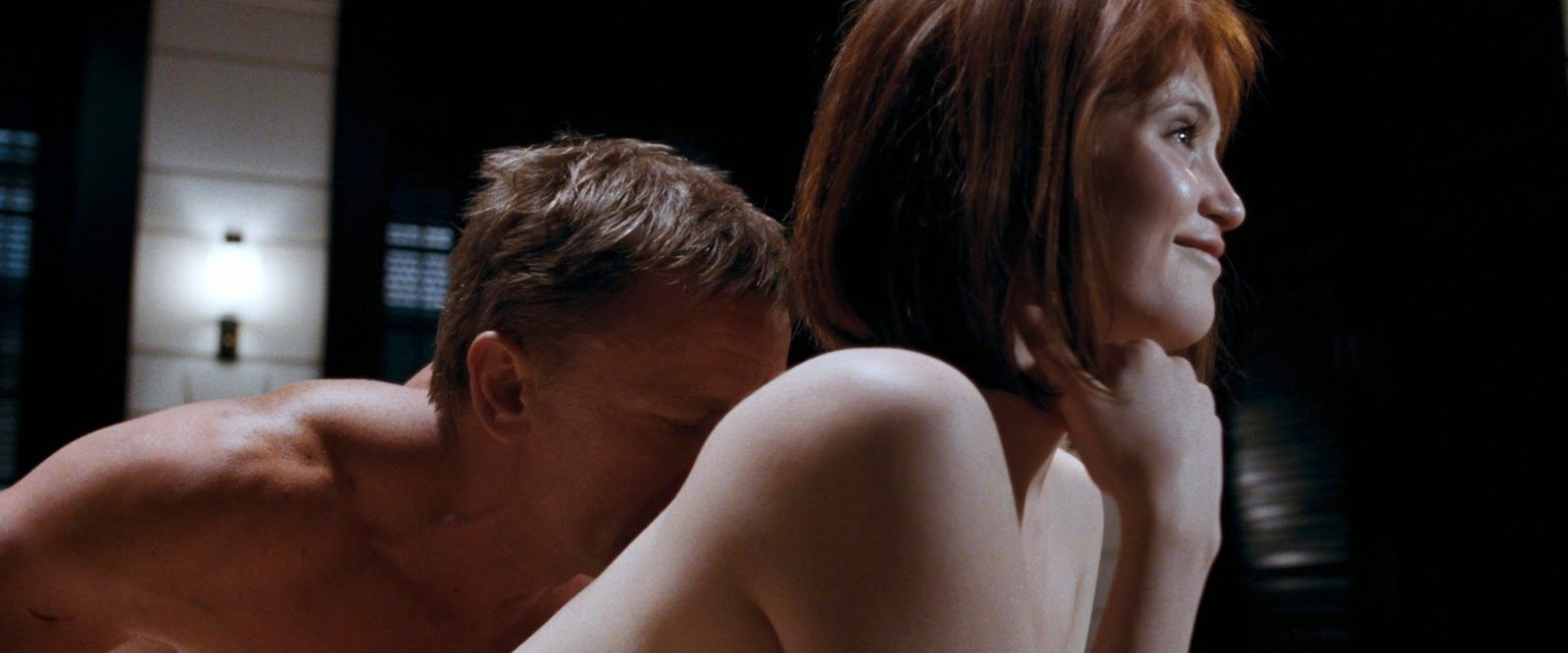 Daniel craig was lucky to have a sex scene with me