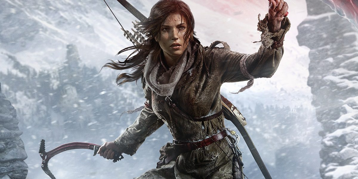 Artwork from the game 'Rise of the Tomb Raider'