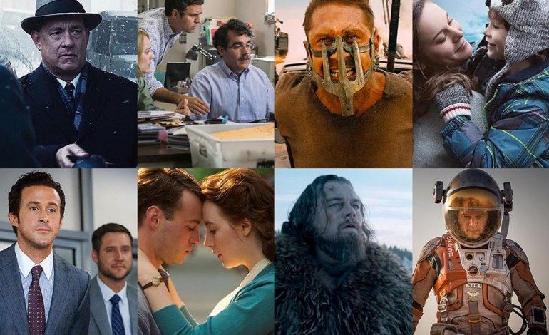 Oscars 2016: Guild Scorecard