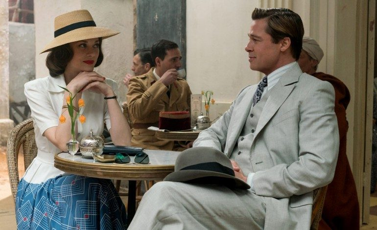 Pitt and Cotillard Hit It Off in WWII Drama 'Allied'
