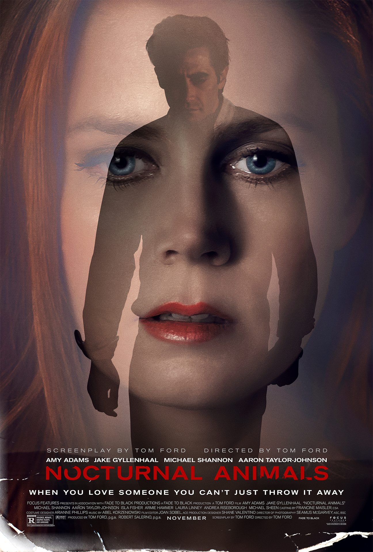 Official 'Nocturnal Animals' Movie Poster
