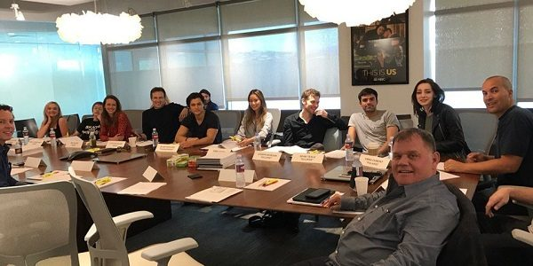 Table read for the new Fox/X-Men series, 'Gifted'