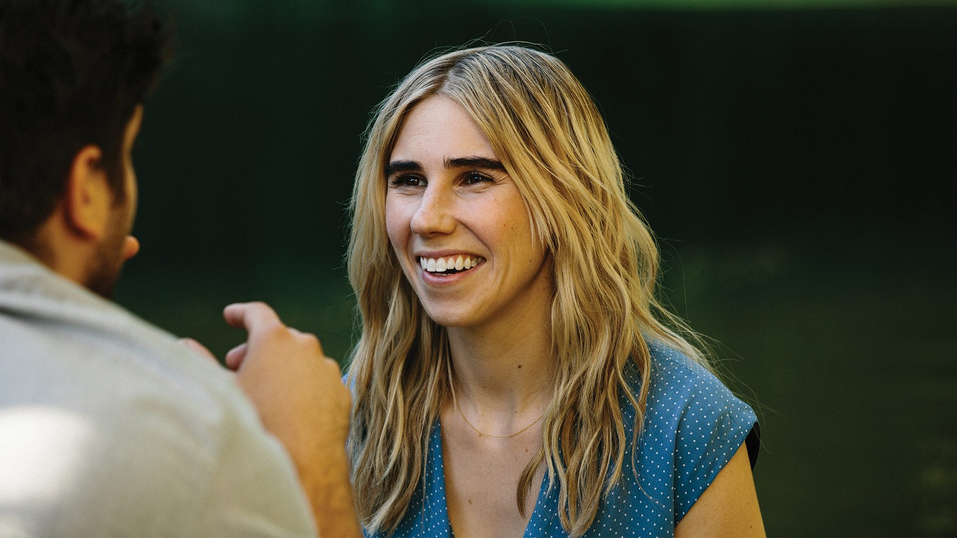 Zosia Mamet as Diana in THE BOY DOWNSTAIRS. Photo by Jon Pack
