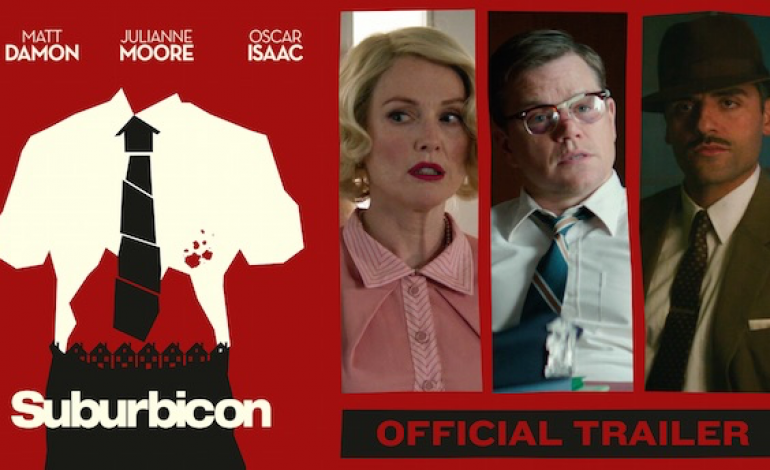 Teaser Released for George Clooney's 'Suburbicon'