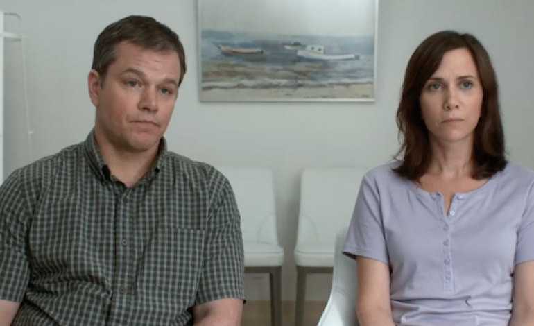 Check out the New 'Downsizing' Trailer Starring Matt Damon and Kristen Wiig