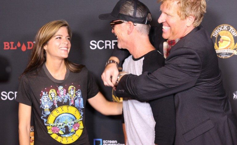 Tom Arnold, Jake Busey, and Selma Blair Attend the World Premiere of 'Dead Ant'