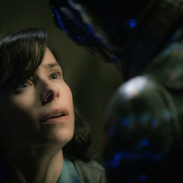 Sally Hawkins and Doug Jones.