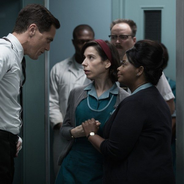 (From L-R) Michael Shannon, Sally Hawkins and Octavia Spencer.