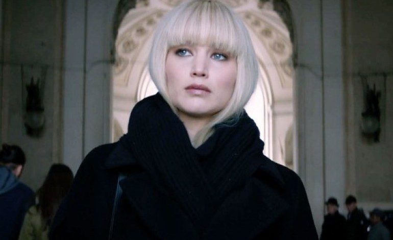 First Look at 'Red Sparrow' Official Trailer