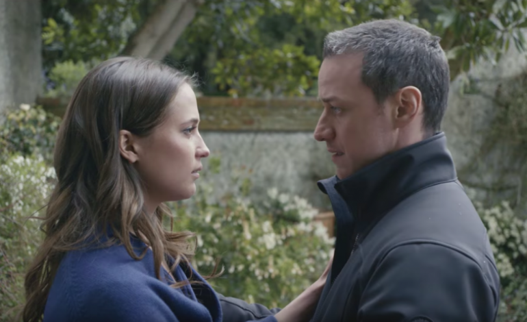 Trailer for 'Submergence' Starring Alicia Vikander, James McAvoy