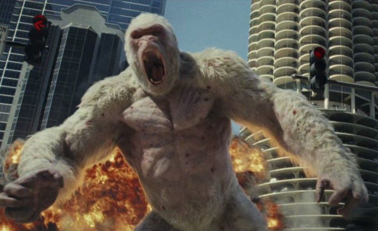 'Rampage' Squeaks Past 'A Quiet Place' For Top Of The Box Office, Makes $34.5 Million