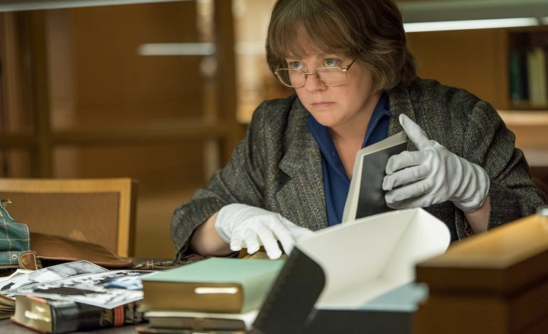 First trailer for Can You Ever Forgive Me? starring Melissa McCarthy
