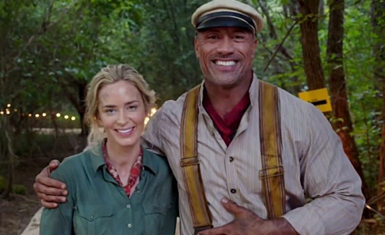 Dwayne Johnson Provides First Look at 'Jungle Cruise' Set