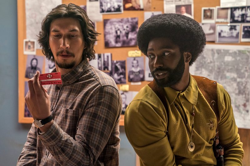 Movie Review - 'BlacKkKlansman'