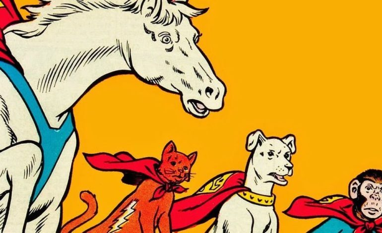 DC's 'Super Pets' Movie in the Works at Warner Bros.