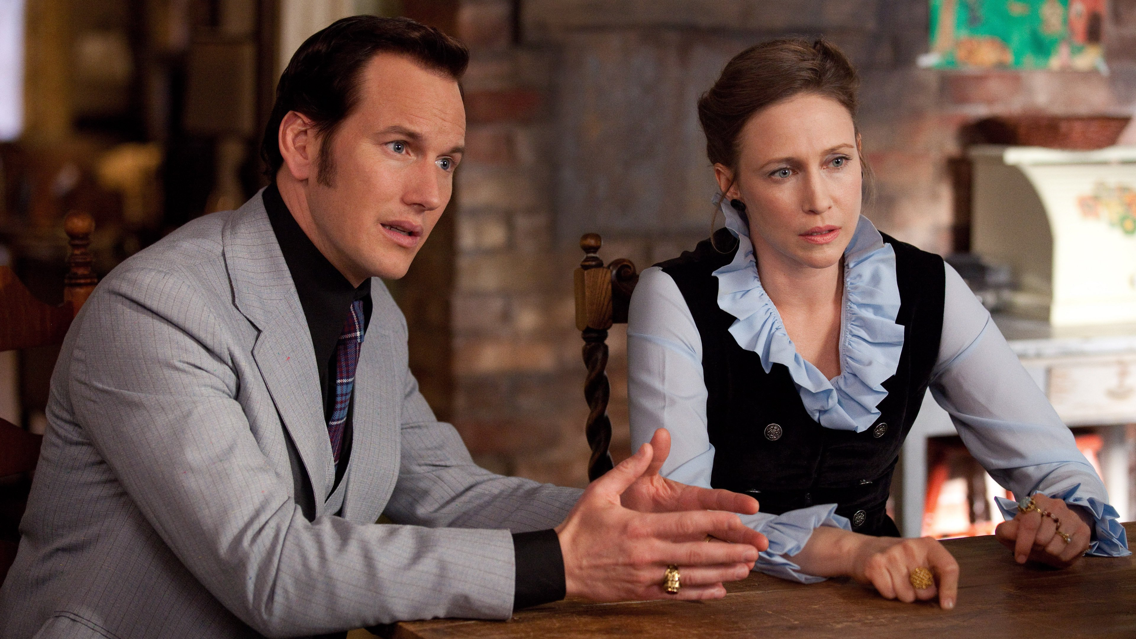 Patrick Wilson and Vera Farmiga to Reprise 'Conjuring' Roles in 'Annabelle 3'