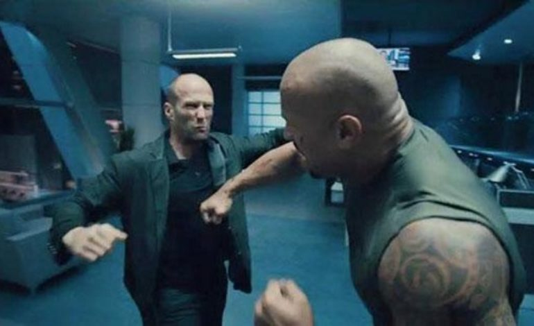 Stare-Down the First Image From 'Hobbs and Shaw'