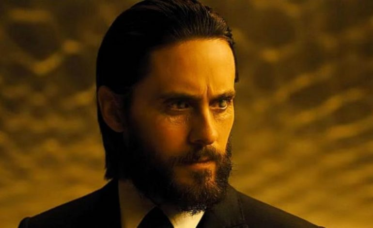 Jared Leto Teases 'Morbius' Transformation for Upcoming Spider-Man Universe Spinoff