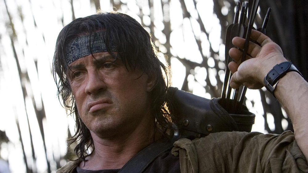 Sylvester Stallone Takes Aim In 'Rambo 5: Last Blood' Photo