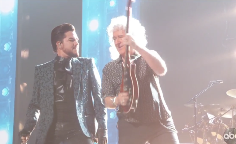 Adam Lambert and Queen Kick Off the Oscars