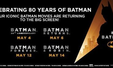 Celebrate Batman's 80th Birthday with a Four-Day Cinema Event!