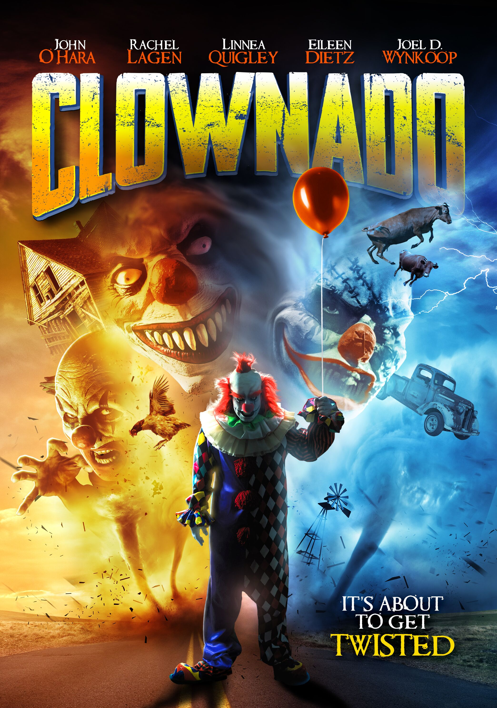 Clowns and Hurricanes are United at Last in 'Clownado'