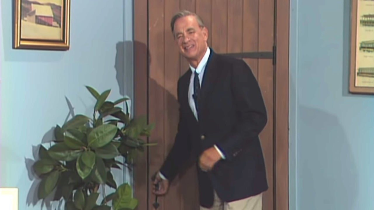 Tom Hanks Portrays Beloved Icon Mr. Rogers in First Trailer for 'A Beautiful Day in The Neighborhood'