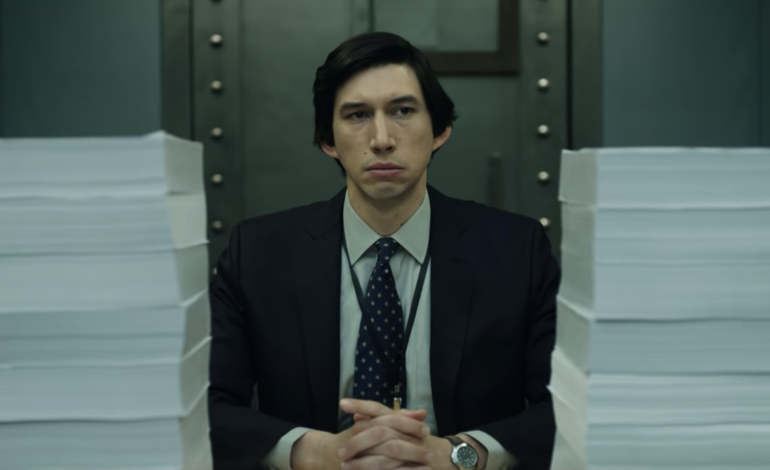 First Trailer Released For 'The Report,' starring Adam Driver