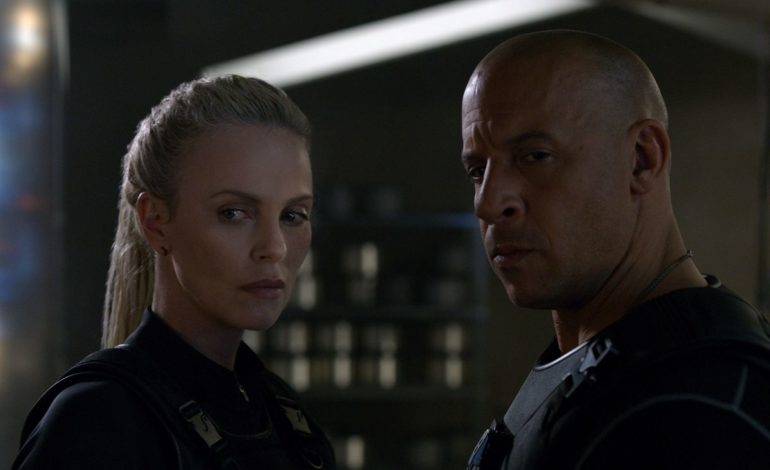 Charlize Theron Reveals New Photo for Upcoming 'Fast + Furious' Sequel