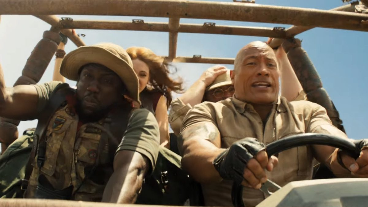 The Rock Saw His Jumanji Sequel and Is More Than Ready For Its Release