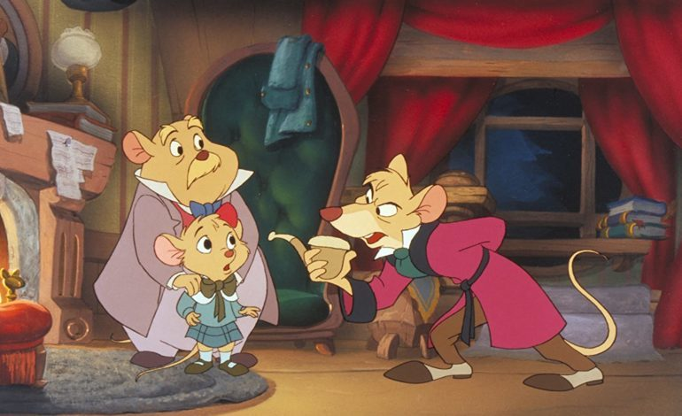 A Nod To 'The Great Mouse Detective,' The Light That Ended Disney's Dark Period