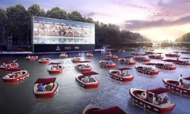 Floating Cinema with Boats to Achieve Socially Distanced Moviegoing Across US