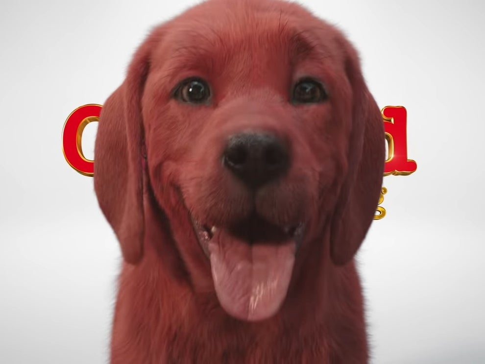 CGI Movie of 'Clifford The Big Red Dog' Coming to the Big Screen Next Year
