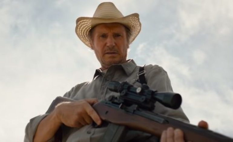 Liam Neeson Defends a Young Boy from Cartel Assassins in 'The Marksman'!