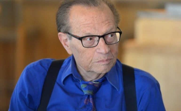 Legendary Broadcaster Larry King Hospitalized with Covid-19